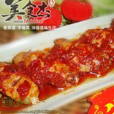 红辣蒸鸡翅