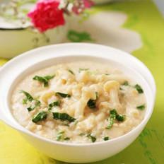蘑菇菜丝燕麦粥