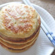 芝麻玉米渣蛋饼