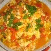 鸡蛋炒柿子玉米