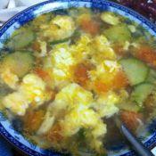 鸡蛋柿子蛋花汤
