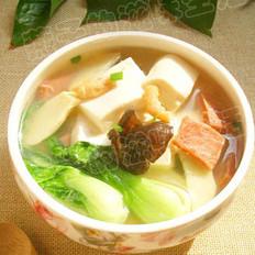 冬笋豆腐煲