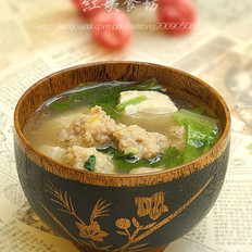 砂锅丸子汤