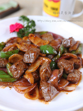 Image result for 黑椒牛肉粒