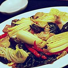 小炒无水白菜