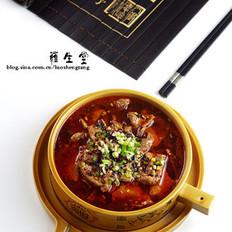 四川水煮牛肉