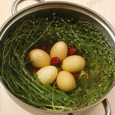 地菜花煮鸡蛋