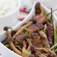 干锅腊肉蟹味菇