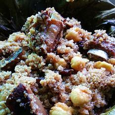 莲子排骨粉蒸肉