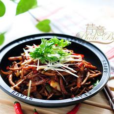 干锅茶树菇