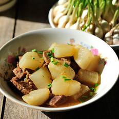 牛肉炖萝卜