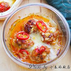 芝香番茄焗肉丸
