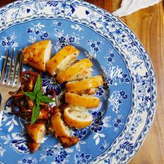 香烤糯米鱿鱼筒