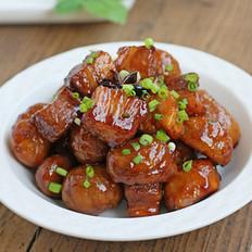 板栗红烧肉