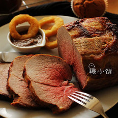 7分熟烤牛肉