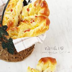 火腿玉米面包条