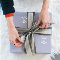 【图解】如何用丝带包装礼盒
