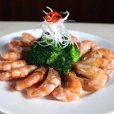 微波烤海捕虾