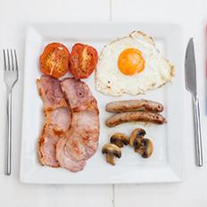 早餐吃得像国王:豪华英式早餐