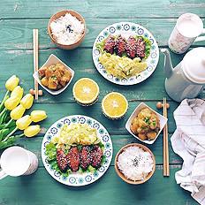 现代家庭餐桌礼仪